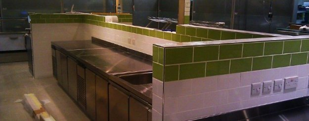 Ceramic Tiling - Caswell Maintenance Services Ltd