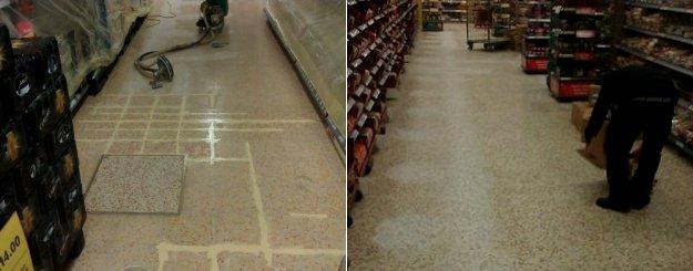 Terrazzo Flooring - Caswell Maintenance Services Ltd